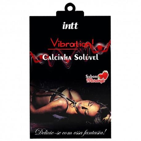 Calcinha Solúvel Comestível Vibration! - Intt