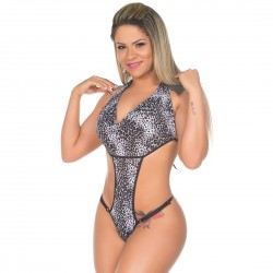 Body Sensual Rendado Pérola - Pimenta Sexy