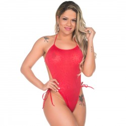 Mini Body de Renda Pimenta Sexy