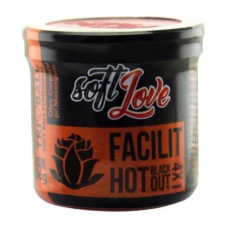 Facilit Hot Blackout 4x1 Triball Soft Ball Funcional 3un - Soft Love