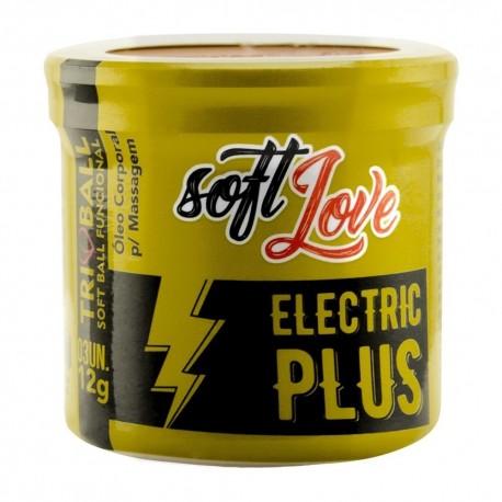 Eletric Plus Triball Soft Ball Funcional 3un - Soft Love