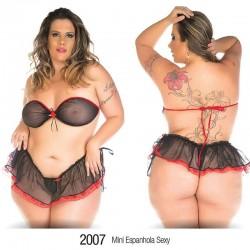 MINI Fantasia Plus Size Espanhola Sexy - Pimenta Sexy