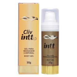 Gel corporal anestésico Cliv Intt Gold 30g - Intt