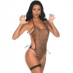 Kit Mini Fantasia Body Animal Print - Pimenta Sexy