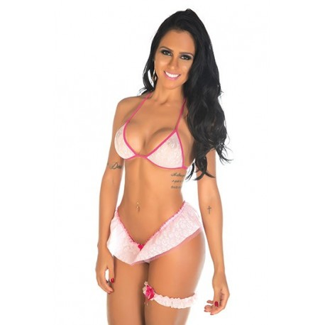 Mini Fantasia Bailarina Pimenta Sexy