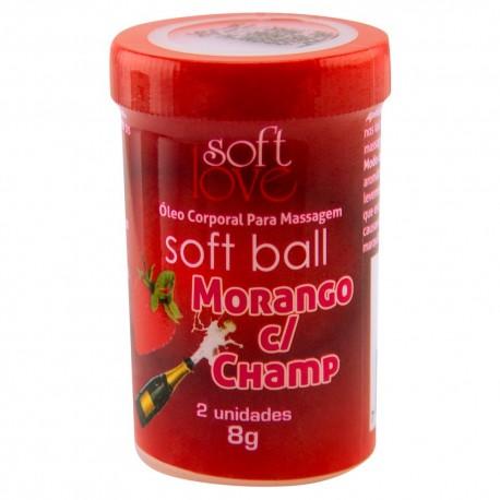 Soft Ball Beijável Capeta 2 Unid