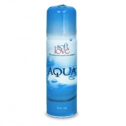 Aqua Extra Luby Lubrificante Siliconado 50ml - Soft Love