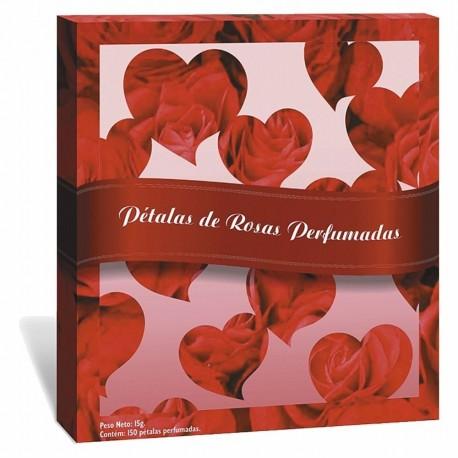 Pétalas de Rosas Perfumadas 150 pétalas 27g - Pau Brasil