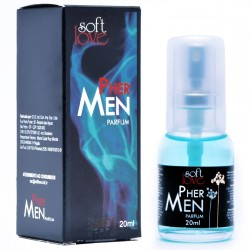 Perfume Masculino Pher Men Parfum 20ml - Soft Love