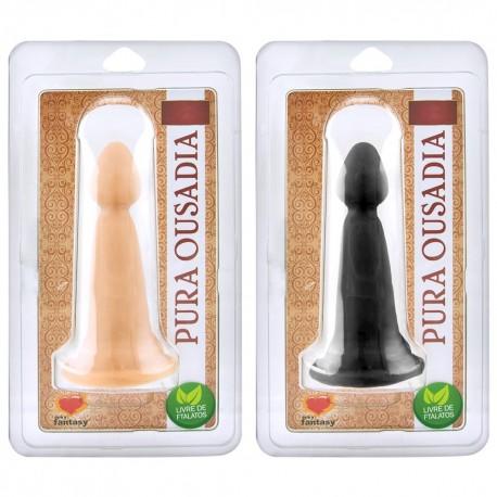 Plug Edu Maciço 14,2 x 4,2 cm - Sexy Fantasy