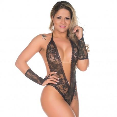 Body Sensual Fashion Rendado - Pimenta Sexy