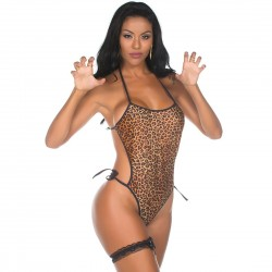 Kit Mini Fantasia Body Animal Print - Pimenta Sexy