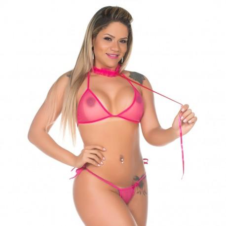 Kit Mini Fantasia Pimentinha Gatinha - Pimenta Sexy