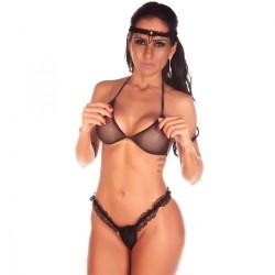 Kit Mini Fantasia Viúva Negra - Pimenta Sexy