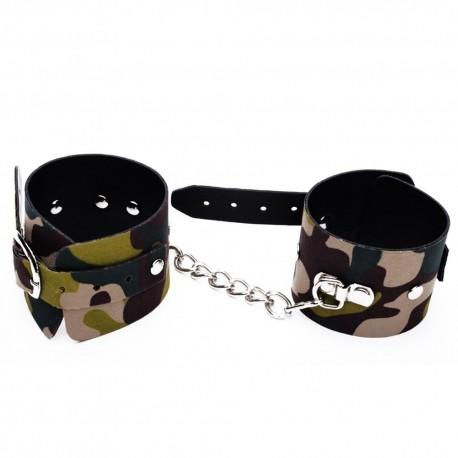 Algem Bracelete Luxo Camuflada - Dominatrixxx