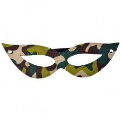 Máscara Tiazinha Camuflada - Dominatrixxx