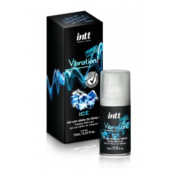Vibration Ice Gel Excitante Beijável 17g - Intt