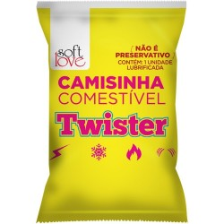Camisinha Twister Funcional Solúvel - Soft Love
