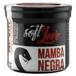 Mamba Negra Triball Soft Ball Funcional 3un - Soft Love