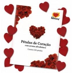 Pétalas de Rosas em Seda Perfumadas 120 unidades - Brasil Fetiche
