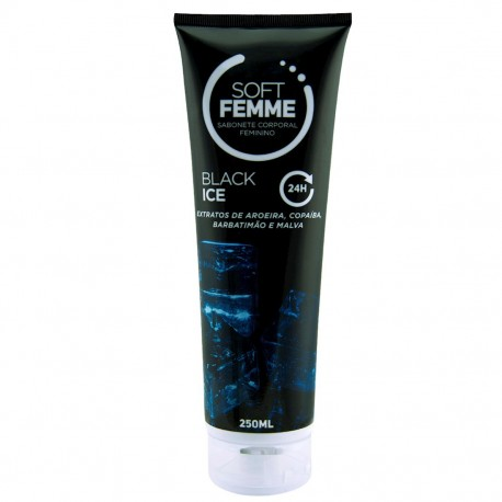 Soft Femme Sabonete Líquido Feminino Soft Love 250ml