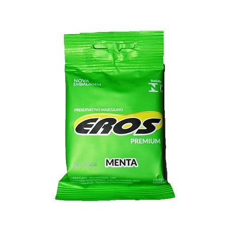 Preservativo Eros Premium aroma Menta - Eros