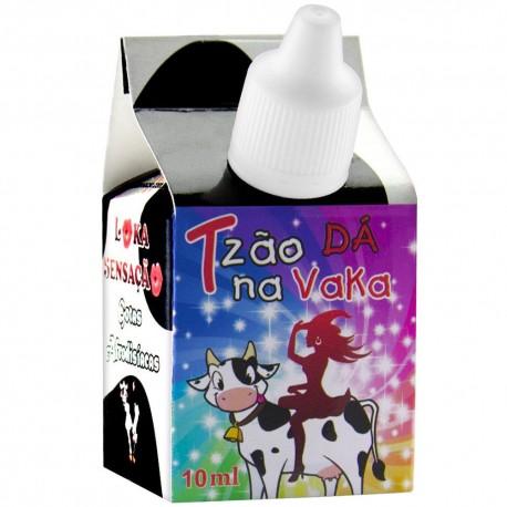 Tesão De Vaca Gotas Excitantes 10ml - Loka Sensação