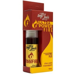 Ultra Power Fire Eletric Jatos 15ml - Soft Love