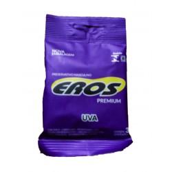 Preservativo Eros Premium aroma Uva - Eros