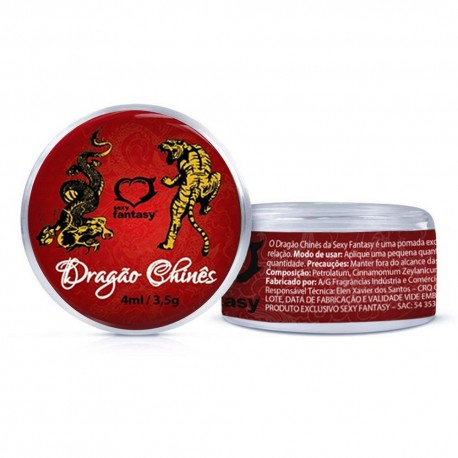 Dragão Chinês Pomada 4ml - Sexy Fantasy