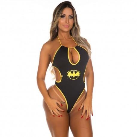 Mini Fantasia Body Bat Girl - Pimenta Sexy