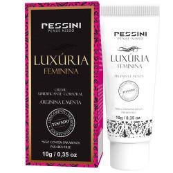 Luxúria Excitante Feminino 10g - Pessini