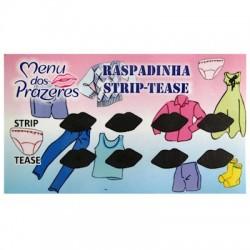 Raspadinha Strip-Tease - Menu dos Prazeres