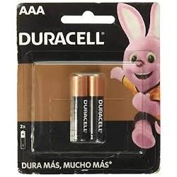 Pilha Alcalina Palito AAA Cartela com 02 und - Duracell