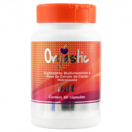 Orgastic Suplemento Sensual Unissex 60 Cápsulas - Intt