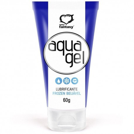 Aqua Gel Frozen Lubrificante Beijável 60g - Sexy Fantasy
