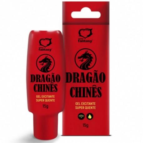Dragão Chinês Gel Excitante Super Quente 15g - Sexy Fantasy