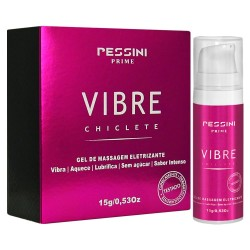 Vibre Gel de Massagem Eletrizante Sabor Chiclete - Pessini