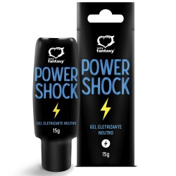 Power Shock Gel Eletrizante Neutro 15g - Sexy Fantasy
