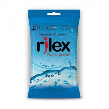 Preservativo Lubrificado 3 Unidades - Rilex