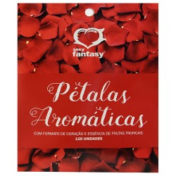 Pétalas Perfumadas 120 Unidades - Sexy Fantasy