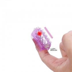 Dedeira Vibratória com Saliências Massageadoras – Importado